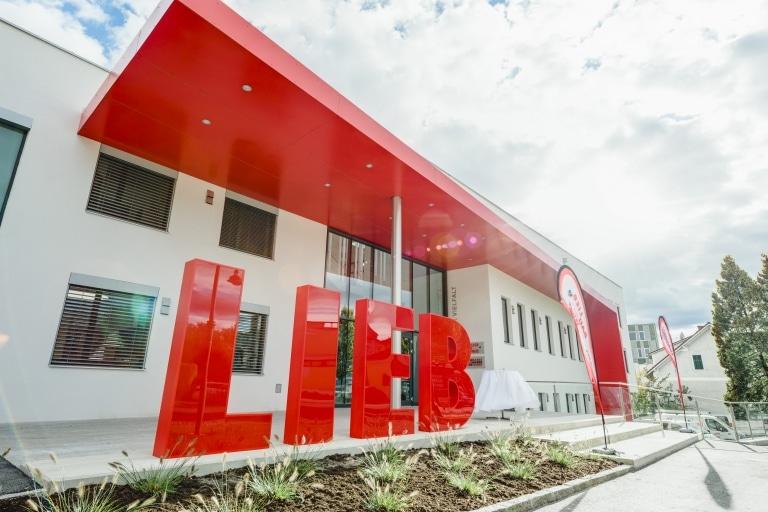 Die Firmenzentrale der Lieb Bau Unternehmensgruppe in Weiz