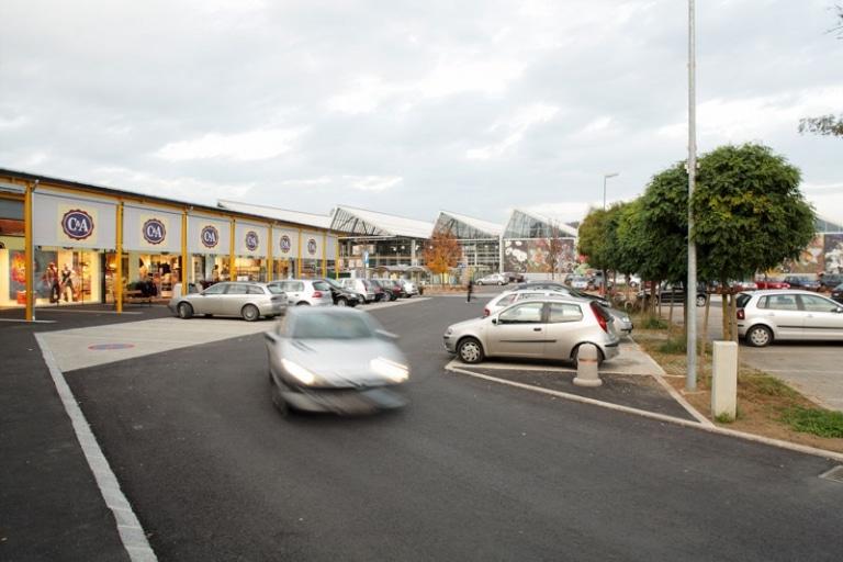 Das Gleisdorfer Einkaufszentrum wächst weiter