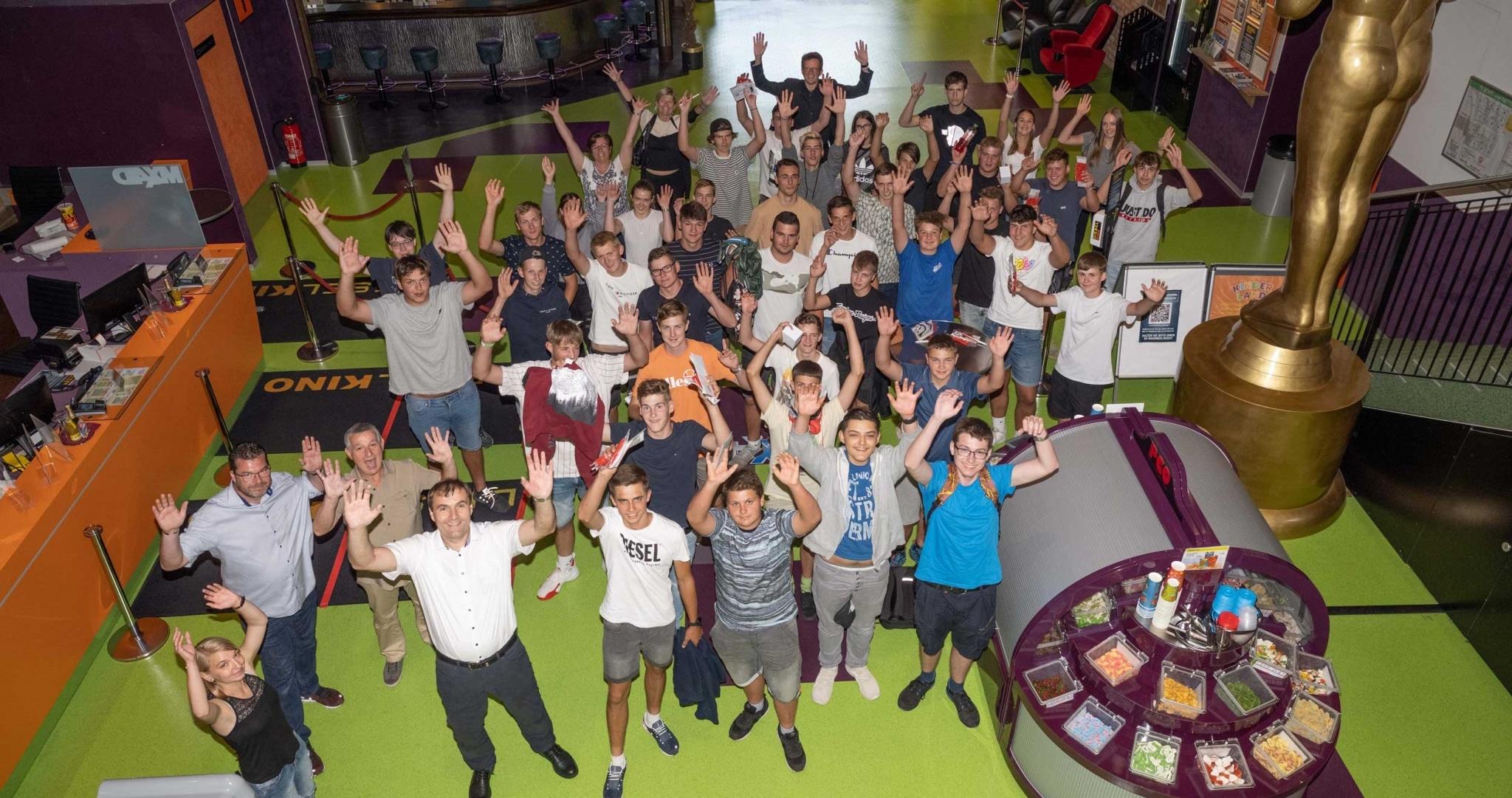 Gruppenfoto der Lehrlinge sowie Geschäftsführung des Lieb Lehrlingstags 2021